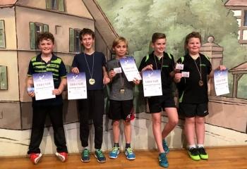 Sieger U15 Doppel